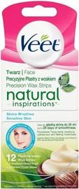 Veet Natural Inspirations Face Wax Strips Shea Butter 12pcs