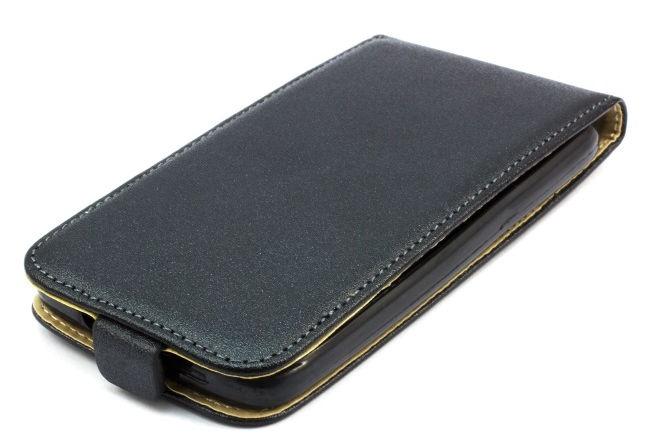 Telone Shine Slim Flip Case For LG D405n Optimus L90 Black