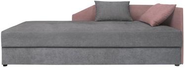 Dīvāngulta Black Red White Kelo Gray/Pink, 204 x 95 x 80 cm