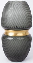 Vāze Home4you Luxo, zelta, 230 mm