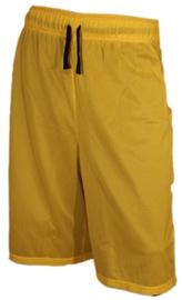 Bars Mens Basketball Shorts Yellow/Black 174 S