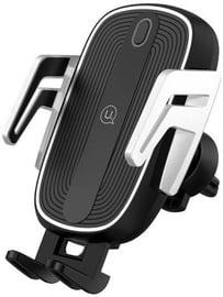 Telefona turētājs Usams Smart Wireless Charging Car Holder
