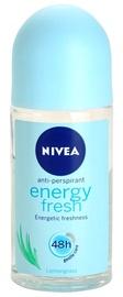 Dezodorants sievietēm Nivea Energy Fresh Roll On, 50 ml