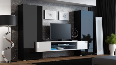 Cama Meble Wall Unit Torii 3 Black/White