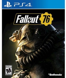 PlayStation 4 (PS4) spēle Fallout 76 PS4