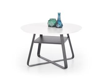 Kafijas galdiņš Halmar Redo White/Black, 750x750x450 mm