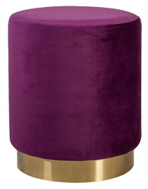 Pufs Home4you La Perla Purple, 35x35x42 cm