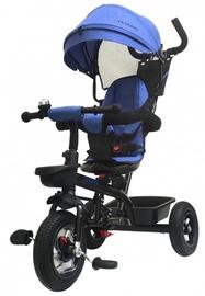 Трехколесный велосипед Tesoro BT-10, синий/черный
