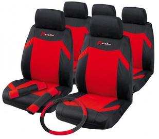 Чехлы для автомобильных сидений Bottari Indy Kit Black Red