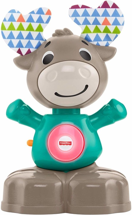 Interaktīva rotaļlieta Fisher Price Linkimals Musical Moose GKC34