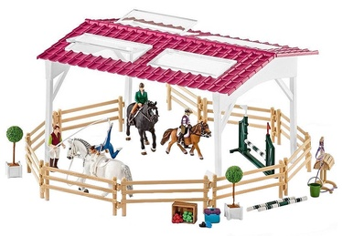 Schleich Riding School With Riders And Horses Set 42389