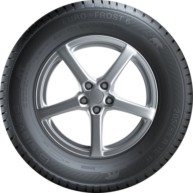 Зимняя шина Gislaved Euro Frost 6, 235/60 Р18 107 V XL E C 72