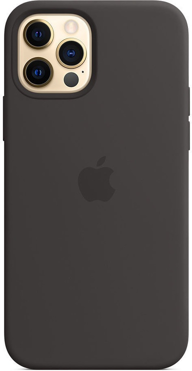 Apple iPhone 12/12 Pro Silicone Case with MagSafe Black