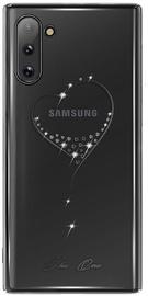 Kingxbar Wish Series Back Case With Swarovski For Samsung Galaxy Note 10 Silver