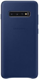 Samsung Leather Cover For Samsung Galaxy S10 Plus Navy