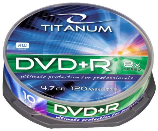 Titanum DVD+R 4.7GB 8x 25pcs