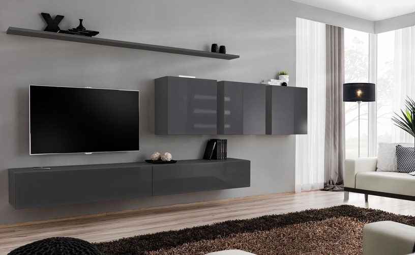 ASM Switch VII Wall Unit Graphite
