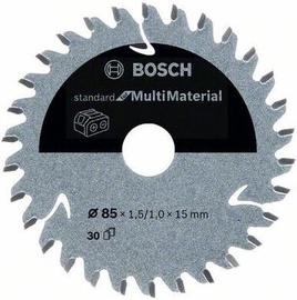 Griešanas disks Bosch Standard Multi Material Circular, 85 mm x 15 mm