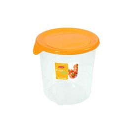 Curver Food Container Round 1L Fresh&Go Yellow