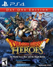 Игра для PlayStation 4 (PS4) Dragon Quest Heroes Day One Edition PS4