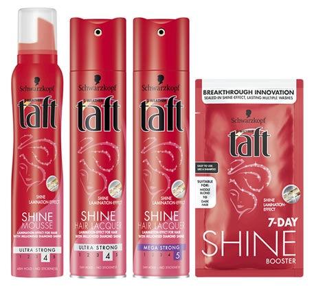 Matu putas Schwarzkopf Taft 10 Carat Shine Hair Mousse, 200 ml
