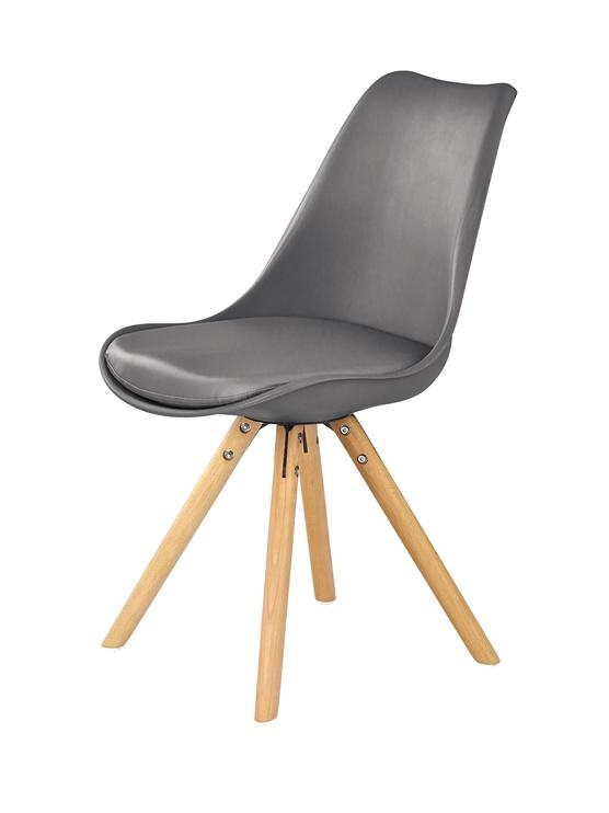 Ēdamistabas krēsls Halmar K201, pelēka