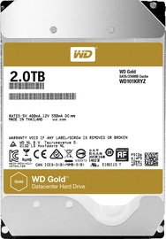 Western Digital Gold 2TB 7200RPM SATA 128MB WD2005FBYZ