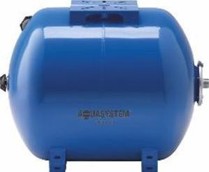 Ūdens tvertne Aquasystem Expansion Vessel for Cold Water Horizontal Blue 150L