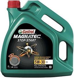 Машинное масло Castrol Magnatec Stop Start 5W - 30, синтетический, для легкового автомобиля, 4 л