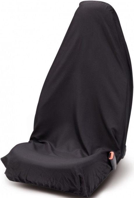 Bottari Single-Seat Front Seat Protective Cover Black