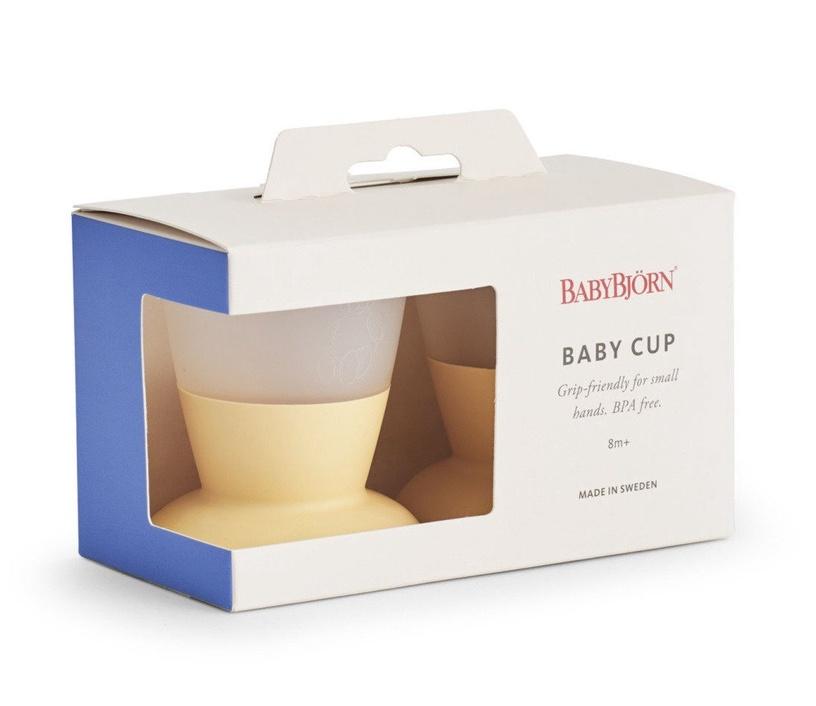 BabyBjorn Baby Cup 2pcs Powder Yellow
