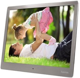 "Hama Digital Photo Frame 10.0"" Slim Steel Silver"