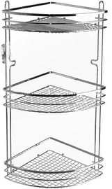 Axentia Cassandra Bathroom Shelf Angle 3-Level