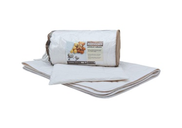 Gultas veļas komplekts bērniem Comco Cotton Children's Bedding Set 2pcs White