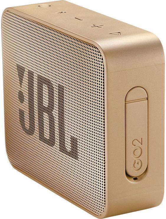 Беспроводной динамик JBL GO 2 Pearl Champange, 3 Вт