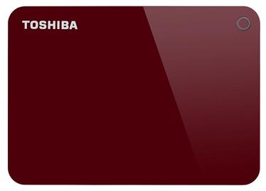 "Toshiba Canvio Advance 2.5"" 2TB USB 3.0 Red"