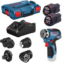 Bosch GSR 12V-35 FC Cordless Drill L-Boxx 12V 2x3.0Ah