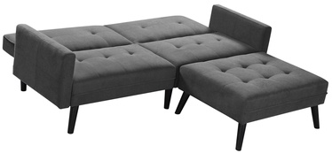 Halmar Folding Sofa With Ottoman Corner Grey