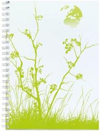 Herlitz Spiral Pad A4 Green 10918712