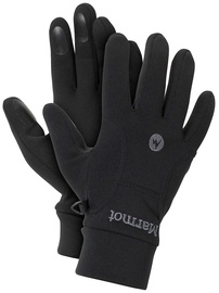 Marmot Gloves Power Stretch Black M
