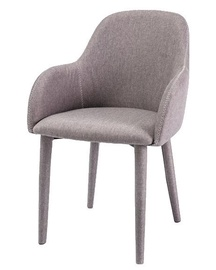 Ēdamistabas krēsls Signal Meble Oscar Grey, 1 gab.