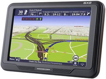Navigācija Modecom FreeWay SX2 + MapFactor EU