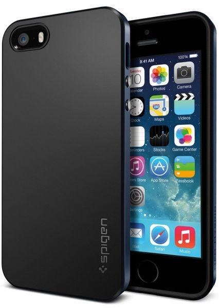 Spigen Neo Hybrid Back Case For Apple iPhone 5/5s/SE Black
