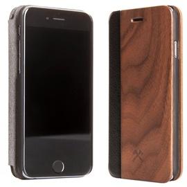 Woodcessories EcoFlip Flipcase For Apple iPhone 7/8 Walnut