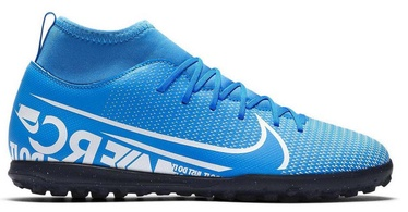 Nike Mercurial Superfly 7 Club TF JR AT8156 414 Blue 37.5
