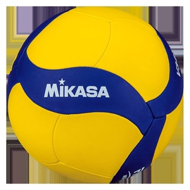 Mikasa School Volleyball V345W Yellow/Blue