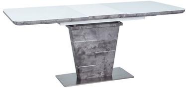 Pusdienu galds Signal Meble Ilario Grey, 1400x800x760 mm