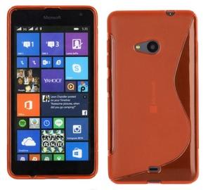 Telone Back Case S-Case Microsoft 535 Lumia Silicone Coral