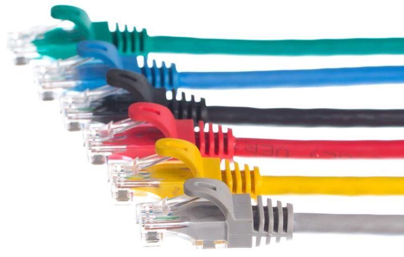 Netrack CAT 5e UTP Patch Cable Blue 0.5m