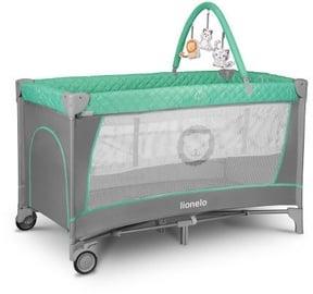 Детская кроватка Lionelo Flower 2in1 Turquoise